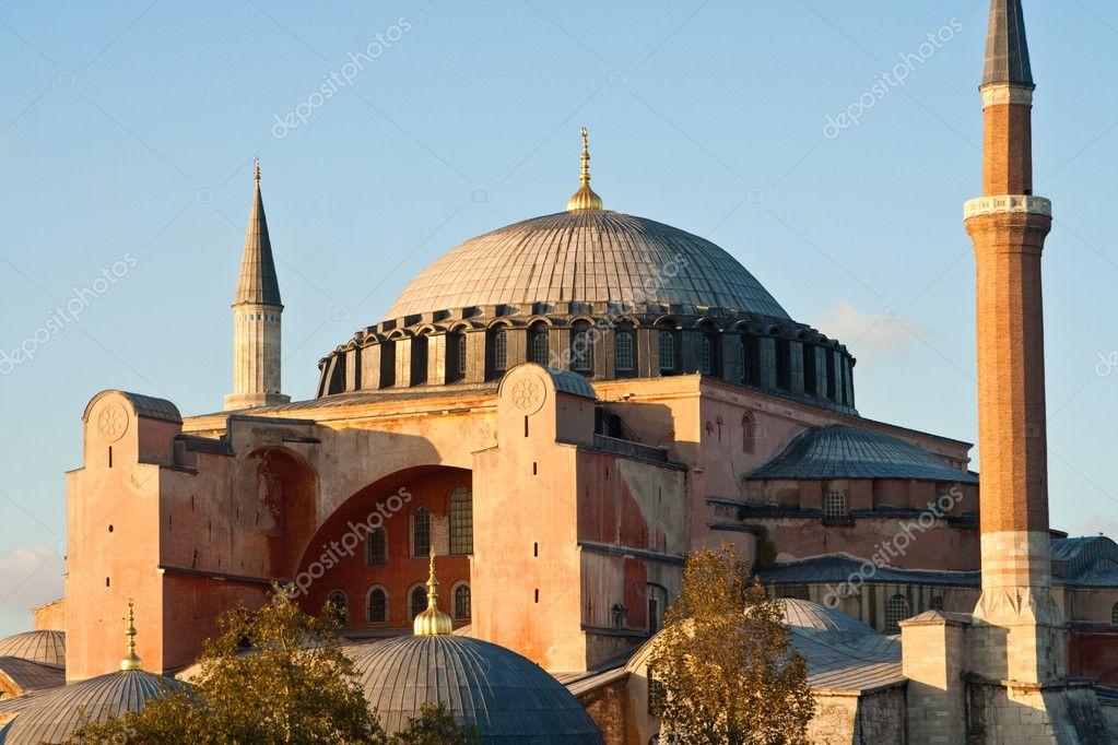 圣索非亚大教堂索菲亚在伊斯坦布尔