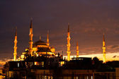 Blue Mosque in Istanbul — Stock Photo