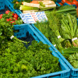 Herbs on a market — Stock Photo