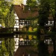 Half-timbered house in Germany — ストック写真