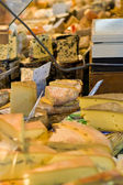 Cheese counter — Stock Photo