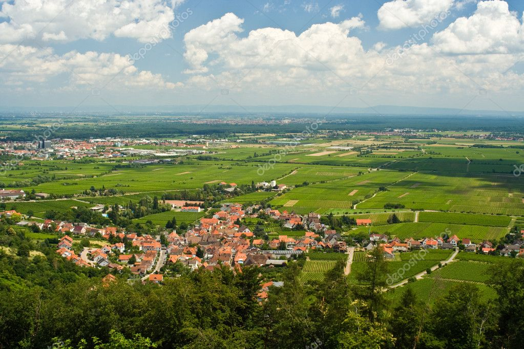 Rhine Valley in Germany — Stock Photo #2123855