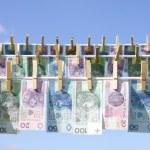 Laundry money — Stock Photo #1647743