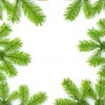 Boże Narodzenie tło z świerk — Zdjęcie stockowe