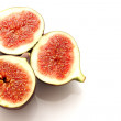 Nutritional and delicious fresh fig — Stock Photo