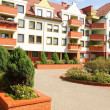Housing estate — Stock Photo