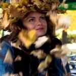 Lady Autumn — Stock Photo #1691146