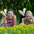 Girls in park — Stock Photo #1737269