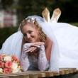 Happy bride — Stock Photo #1826422