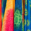 Colorful scarfs - Stock Photo