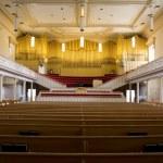 Church with organ — Stock Photo