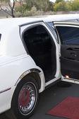 Wedding limo — Stock Photo