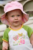 Spring toddler — Stock Photo