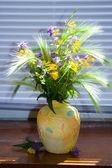 Bouquet of field flowers — Stock Photo
