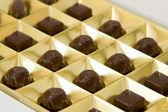 Chocolate box — Stock Photo