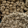 Stock Photo: Rope heap texture