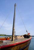 Mast on deck — Stock Photo