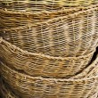 Heap baskets — Stock Photo