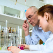 Laboratory work — Stockfoto