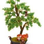 Green tree beads — Stock Photo #2326117