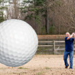 Stock Photo: Golf
