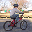 Boy Riding Bike — Stock Photo #1627434