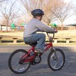 Boy Riding a Bike — Stock Photo #1627434