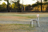 Lonely Chair — Stock Photo