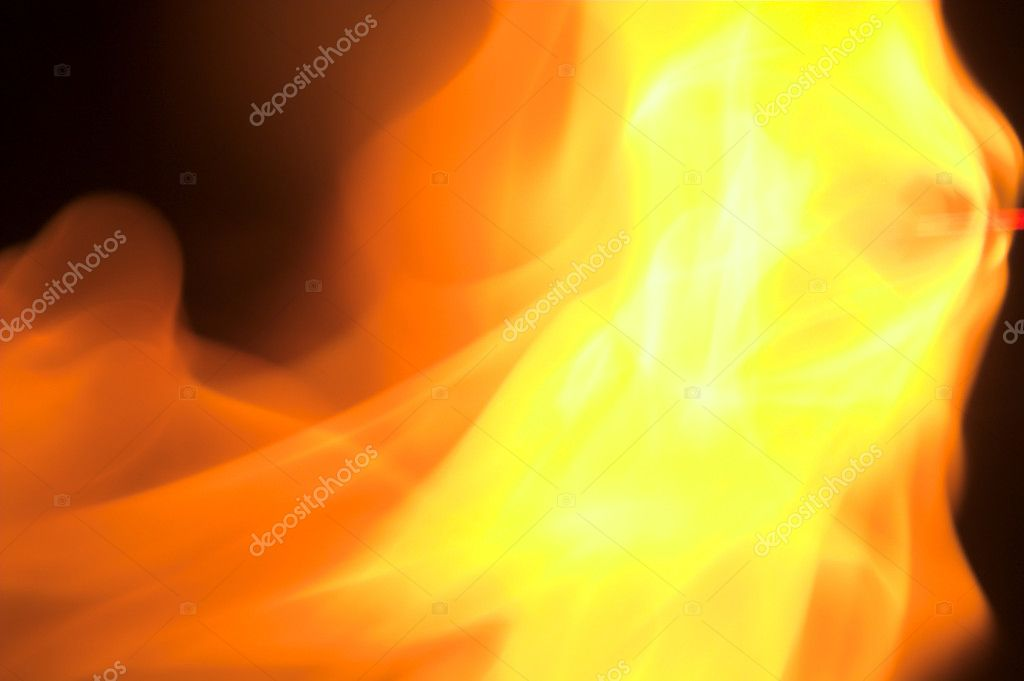 A close up image of a roaring fire. — Stock Photo #1620486