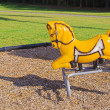 Playground Horse - Stock Photo