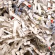 Stock Photo: Shredded Paper