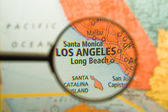 Los Angeles Magnified — Stock Photo