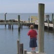 Boy on a Pier — Stock Photo #1712007