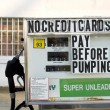 Stock Photo: Old Gas Pumps