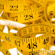 Stock Photo: Tailor's Measuring Tape