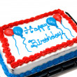 Stock Photo: Birthday Cake