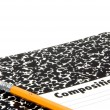 Pencil and Notebook — Foto Stock