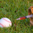Baseball Steroids - Stock Photo