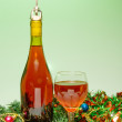 Stock Photo: Holiday Wine