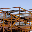 Steel Building Frame Construction — Stock Photo #1739203