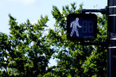 Walk Signal — Stock Photo