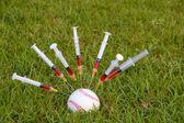 Baseball Steroids — Stock Photo