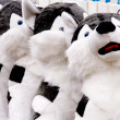 Stuffed Dog Toys — Stock Photo