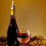 Holiday Wine — Stock Photo