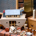 juguetes antiguos — Foto de Stock
