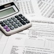 Stock Photo: Tax Calculator