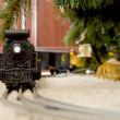 Christmas Train — Stock Photo
