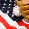 Royalty-Free Stock Photo: Baseball and Glove