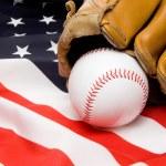 Baseball and Glove — Stock Photo #2008451