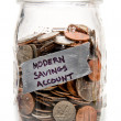 Modern Savings Account — Stock Photo